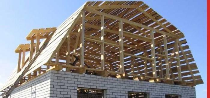 строительство крыши и мансарды