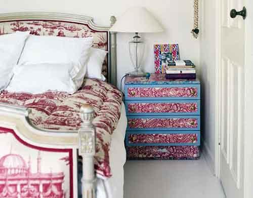 идеи оклейки спальни