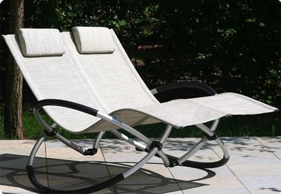 двуместное кресло качалка