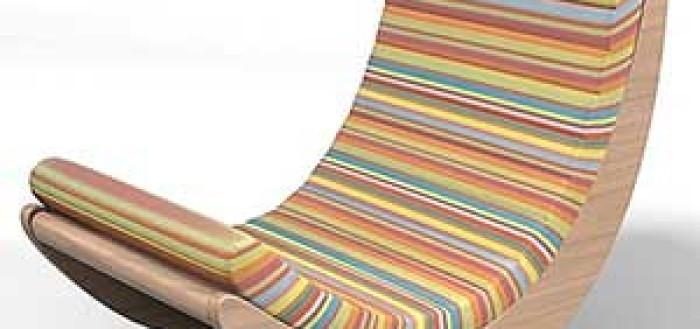 дизайнерские кресла качалки