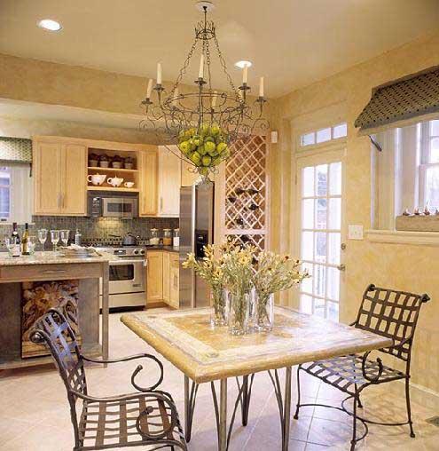 Тосканский стиль в интерьере кухни. Как это?