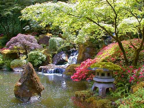 фонари для японского сада