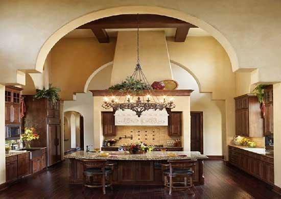 кухня в тосканском стиле фото