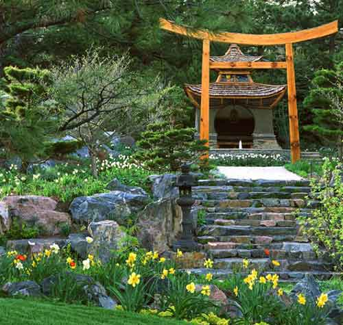 павильон в японском стиле