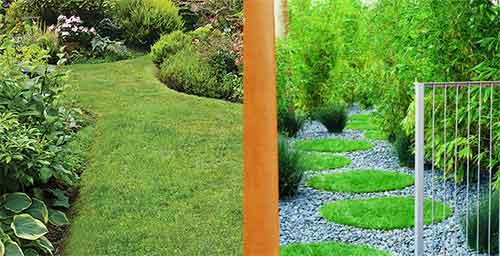 оригинальные дорожки для сада