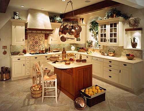 тосканский стиль на кухне