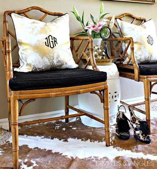 стулья чиппендейл из бамбука
