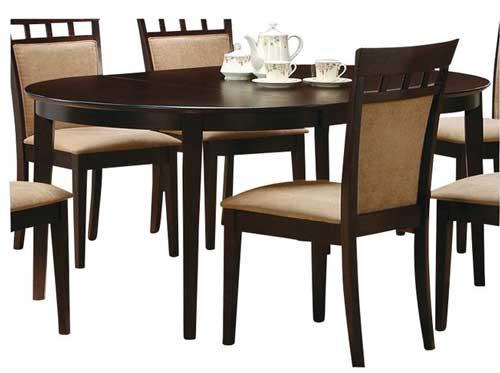 обеденный стол овальный деревянный