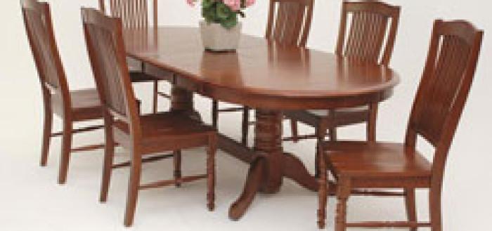 как выбрать овальный обеденный стол