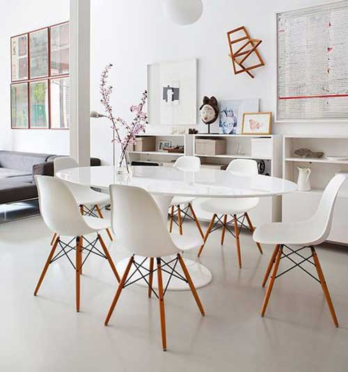 овальный кухонный стол