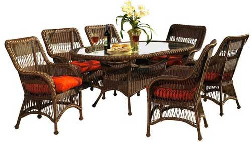 обеденный стол овальный со стульями
