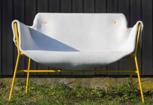 мебель из бетонного полотна