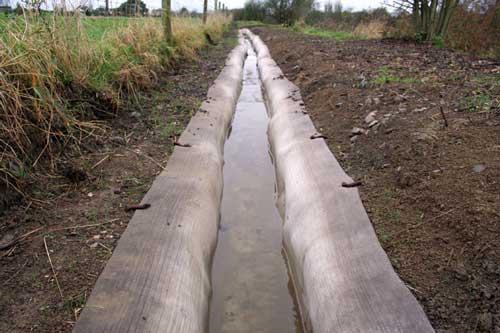 гидроизоляция траншей бетонным полотном