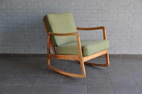 кресла качалки в скандинавском стиле