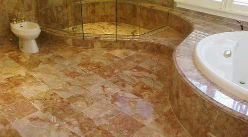 выбрать пол для ванной керамогранит
