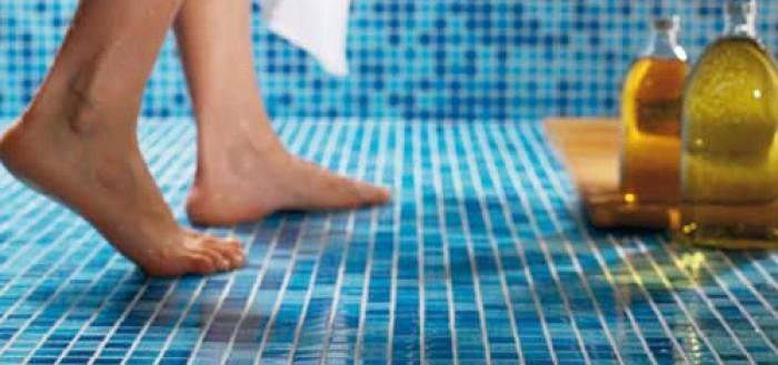 стеклянная мозаика плитка для пола