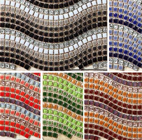 стеклянная мозаика плитка