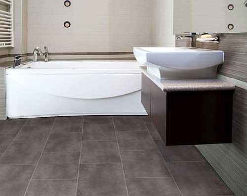 выбрать пол для ванной виниловая плитка