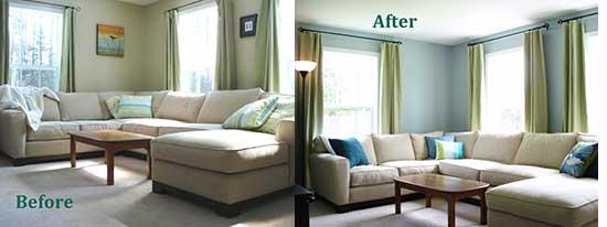 украсить комнату декоративными подушками