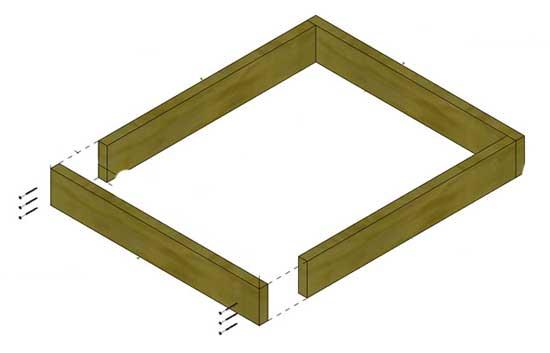 как сделать пирамиду для клубники