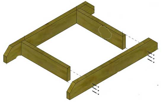пирамида для клубники схема постройки своими руками