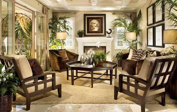 мебель в британском колониальном стиле