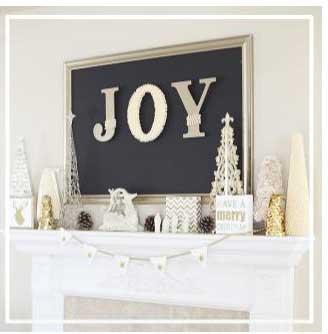 украсить камин к рождеству своими руками