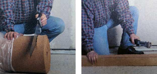 укладка деревянной доски на лаги пошагово - шаг 1