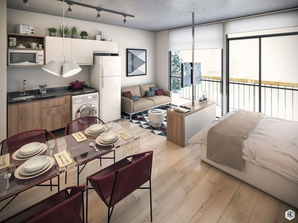 красивые квартиры студии